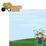 Pumpkin Love: Pumpkin Patch 2 Piece Laser Die Cut Kit