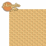 Pumpkin Love: Pumpkin Pie 2 Piece Laser Die Cut Kit