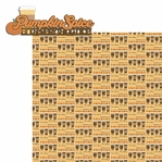 Pumpkin Love: Pumpkin Spice 2 Piece Laser Die Cut Kit
