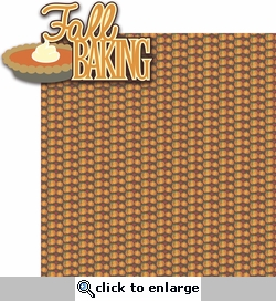 Pumpkin Spice: Fall Baking 2 Piece Laser Die Cut Kit