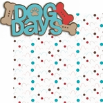 Puppy Love 2: Dog Days 2 Piece Laser Die Cut Kit