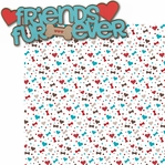 Puppy Love 2: Friends Fur-Ever 2 Piece Laser Die Cut Kit