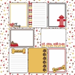 Puppy Love: Journaling Cards 12 x 12 Paper