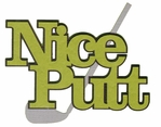 Puttin' Around: Nice Putt Laser Die Cut