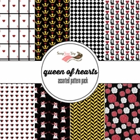 Queen of Hearts Assorted 12 x 12 Paper Pack