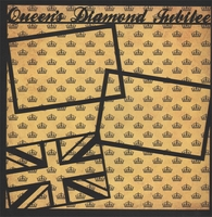 Queen's Diamond Jubilee 12 x 12 Overlay Quick Page Laser Die Cut