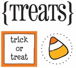 Quick Cards: Treats Sticker