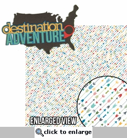 R We There Yet?: Destination Adventure 2 Piece Laser Die Cut Kit