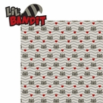 Raccoon: Lil Bandit 2 Piece Laser Die Cut Kit