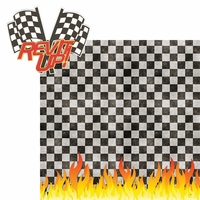 Race: Rev It Up! 2 Piece Laser Die Cut Kit