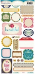 Random Collection: Phrase Stickers Sheet