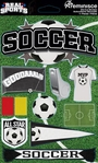 Real Sports: Soccer 3D Sticker