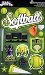 Real Sports: Softball 3D Sticker