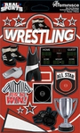 Real Sports: Wrestling 3D Sticker