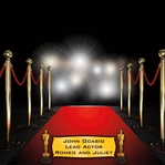 Red Carpet Award 12 x 12 Custom Paper