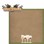 Red or White: Wine and Friends 2 Piece Laser Die Cut Kit