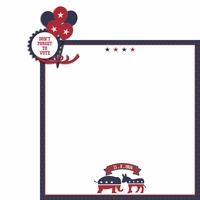 Register to Vote: Don't Forget 2 Piece Laser Die Cut Kit