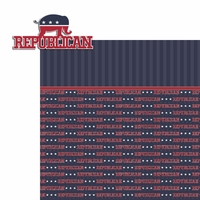 Register to Vote: Republican 2 Piece Laser Die Cut Kit