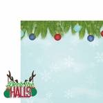 Reindeer: Deck the Halls 2 Piece Laser Die Cut Kit