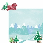 Reindeer: Silly Games 2 Piece Laser Die Cut Kit