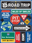 Road Trip 3D Sticker