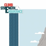 Rock Climbing: Climb, Strength, Endurance 2 Piece Laser Die Cut Kit