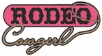 Rodeo Cowgirl Laser Die Cut