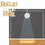 Roller Skating: At The Rink 2 Piece Laser Die Cut Kit