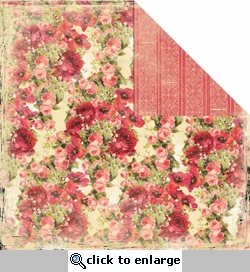 Rose Garden 12 x 12 Double-Sided Paper