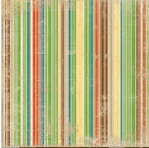 Roughin It: Stripe 12 x 12 Double-Sided Paper