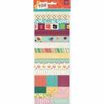 RSVP Shapes & Borders Vellum Tape Stickers