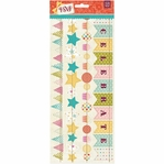 RSVP Stiched Die-Cut Paper Garland 12-inch