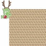 Rudolph: Very Shiny Nose 2 Piece Laser Die Cut Kit