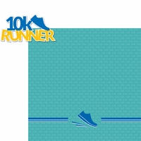 Running: 10k Runner 2 Piece Laser Die Cut Kit
