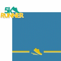 Running: 5k Runner 2 Piece Laser Die Cut Kit