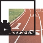 Running: Born To Run 12 x 12 Overlay Quick Page Laser Die Cut