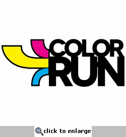 Running Events: Color Run Laser Die Cut