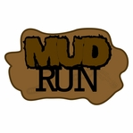 Running Events: Mud Run Laser Die Cut