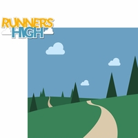 Running: Runner's High 2 Piece Laser Die Cut Kit