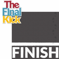 Running: The Final Kick 2 Piece Laser Die Cut Kit
