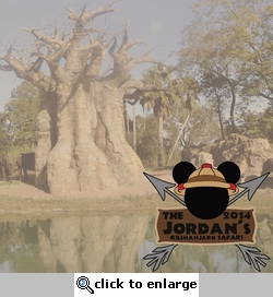 Safari Mickey Custom 12 x 12 Paper