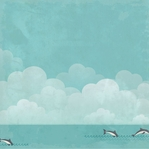 Sail Away: Swim with Dolphins 12 X 12 Paper