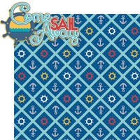 Sailing Away: Come Sail Away 2 Piece Laser Die Cut Kit