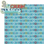 Sailing Away: Crusin' Along 2 Piece Laser Die Cut Kit