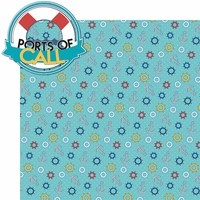 Sailing Away: Ports of Call 2 Piece Laser Die Cut Kit