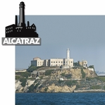 San Francisco: Alcatraz 2 Piece Laser Die Cut Kit