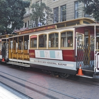 San Francisco: Cable Car 12 x 12 Paper