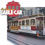 San Francisco: Cable Car 2 Piece Laser Die Cut Kit