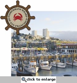 San Francisco: Fishermans Wharf 2 Piece Laser Die Cut Kit