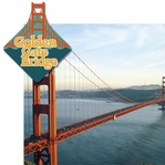 San Francisco: Golden Gate Bridge 2 Piece Laser Die Cut Kit